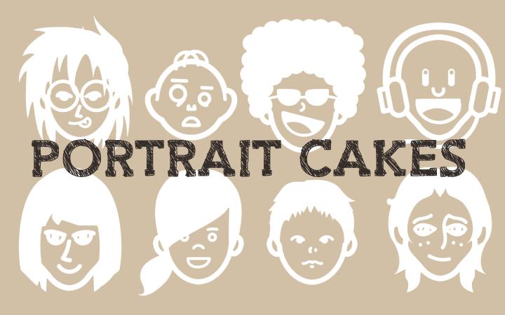 似顔絵ケーキを作る!