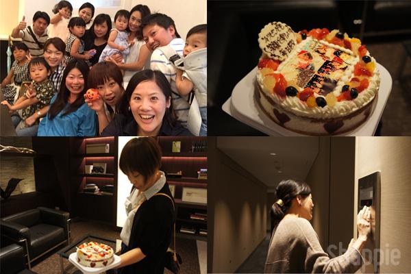 写真ケーキでサプライズ-photocake