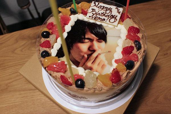 メルカリの写真ケーキ