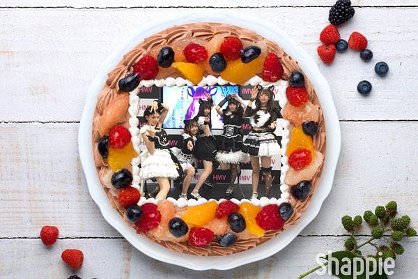 わーすたの写真ケーキ