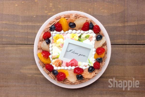 逆チョコ-バレンタインケーキ