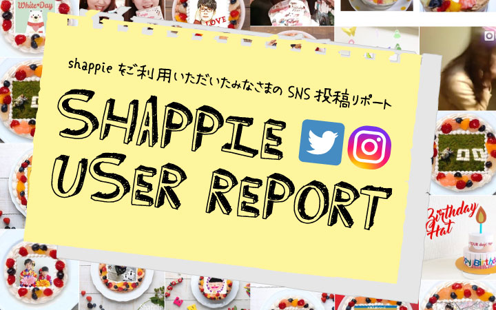 shappie 利用リポート
