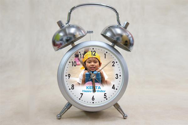 写真入り目覚まし時計
