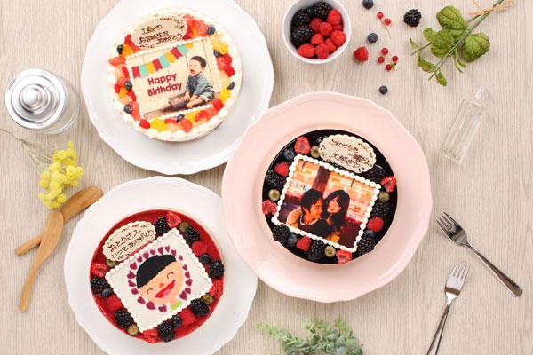shappie 写真ケーキ 種類