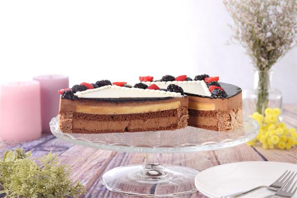 写真ケーキ チョコレートケーキ 味